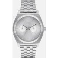 nixon-time-teller-deluxe-watch-silver