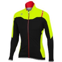 Sportful Fiandre NoRain Jacket - Black/Yellow - M - Black/Yellow
