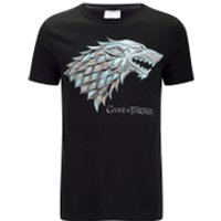 Game of Thrones Men's Stark Sigil T-Shirt - Black - XXL - Black - Game Of Thrones Gifts