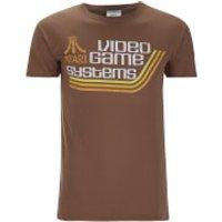 Atari Men's Atari Games Systems T-Shirt - Brown - S - Brown - Games Gifts