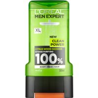 LOral Paris Men Expert Clean Power Shower Gel 300ml