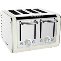 Dualit 46523 Architect 4 Slot Toaster - Canvas White