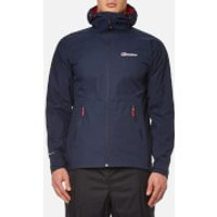 Berghaus Mens Stormcloud Hydroshell Jacket - Dusk - S - Blue