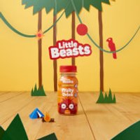 Little Beasts Fruity Drink x 6 - 6 x 150ml - Bottle - Strawberry & Banana
