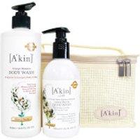 Akin Citrus Hand & Body Wash Duo
