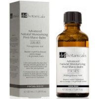 Dr Botanicals Pomegranate Noir Advanced Natural Moisturising Post-Shave Balm For Men 50ml