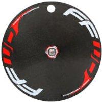 Fast Forward Carbon/Alloy TT/Tri Clincher Rear Disc Wheel - Shimano - Red