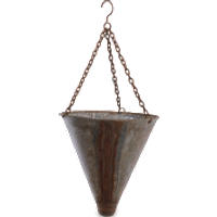Nkuku Abari Tapered Hanging Planter 43 x 20cm