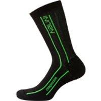 Nalini Compression Socks - Black/Fluro Yellow - XXL - Black/Fluro Yellow