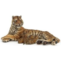 Papo Wild Animal Kingdom: Lying Tigress Nursing - Nursing Gifts
