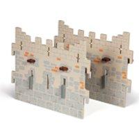 Papo Medieval Era Weapon Master Castle  2 Large Walls (Set 4)