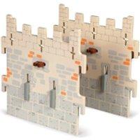 Papo Medieval Era Weapon Master Castle  2 Medium Walls (Set 5)