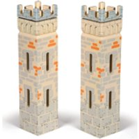 Papo Medieval Era Weapon Master Castle  2 Small Towers