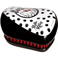 Tangle Teezer Compact Styler Hello Kitty Hair Brush - Black/White