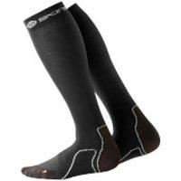 Skins Essentials Mens Recovery Compressions Socks - Black - S - Black