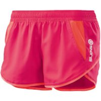 Skins Plus Womens Axis Shorts - Rossa - L - Red