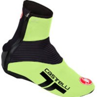 Castelli Narcisista 2 Overshoes - M - Yellow Fluo/Black