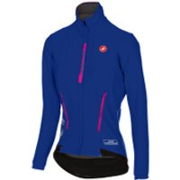 Castelli Womens Perfetto Jacket - Blue - XS - Blue