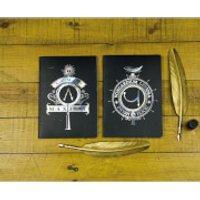 Harry Potter Notebooks (Set of 2) - Harry Potter Gifts