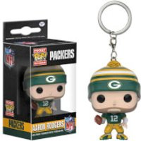 NFL Aaron Rodgers Pocket Pop! Vinyl Key Chain - Nfl Gifts
