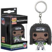 NFL Richard Sherman Pocket Pop! Vinyl Key Chain - Nfl Gifts