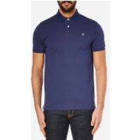 Hackett London Men's Tailored Logo Polo Shirt - Blue/Grey - L - Blue