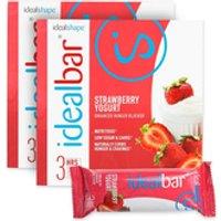 IdealBar 2 Boxes Strawberry Yogurt