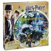 Harry Potter Magical Creatures Round Collectors Puzzle (500 Pieces)