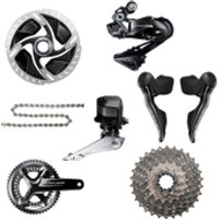 Shimano Dura Ace R9170 Di2 11 Speed Groupset - Hydraulic Disc Brake - 172.5mm-11/30-39/53