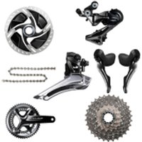 Shimano Dura Ace R9120 11 Speed Groupset - Hydraulic Disc Brake - 172.5mm-11/28-36/52