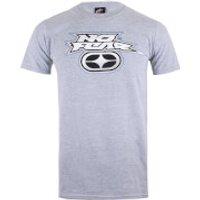 No Fear Mens Reflective Logo T-Shirt - Sports Grey - XXL - Grey