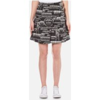 KENZO Women's Snake Flyer Jacquard Mini Skirt - Black - UK 8/EU 36 - Black