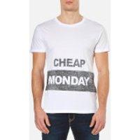 Cheap Monday Mens Standard Reverse T-Shirt - White - XL