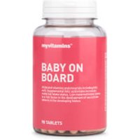 Baby On Board - 3 Months (90 Tablets)