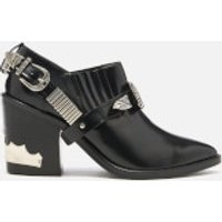 Toga Pulla Toga Pulla Women's Leather Heeled Shoe Boots - Black - UK 7/EU 40 - Black