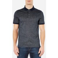 Michael Kors Men's Jacquard Polo Shirt - Midnight - XL - Blue