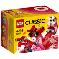 LEGO Classic: Red Creativity Box (10707) - Creativity Gifts