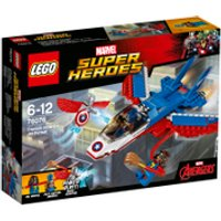 LEGO Marvel Superheroes: Captain America Jet Pursuit (76076) - Lego Gifts