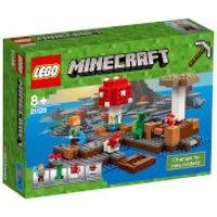 LEGO Minecraft: The Mushroom Island (21129) - Minecraft Gifts