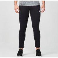 Tru-Fit Zip Joggers - XS - Black