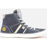 Superdry Men's Bolt Trainers - Eclipse Navy/Grey - UK 8 - Navy
