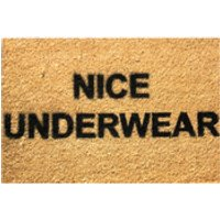 Nice Underwear Doormat - Nice Gifts
