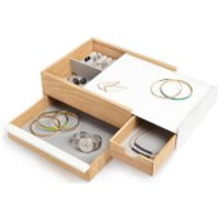 Umbra Stowit Jewellery Box - Natural - Jewellery Box Gifts