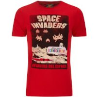 Atari Herren Space Invaders Del EAtari Space T-Shirt - Rot - L - Rot