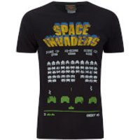 Atari Men's Space Invaders Classic Screenshot T-Shirt - Black - L - Black - Atari Gifts