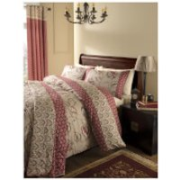Catherine Lansfield Kashmir Duvet Set - Multi - Single - Multi
