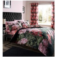 Catherine Lansfield Dramatic Floral Bedding Set - Multi - Single - Multi