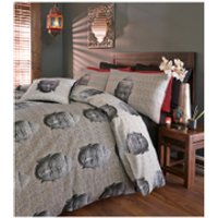 Catherine Lansfield Thai Buddha Bedding Set - Multi - Single - Multi - Buddha Gifts