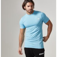 Seamless Short-Sleeve T-Shirt - XXL - Light Blue