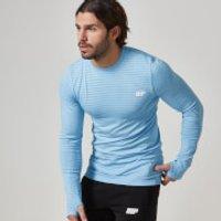 Seamless Long-Sleeve T-Shirt - XXL - Light Blue
